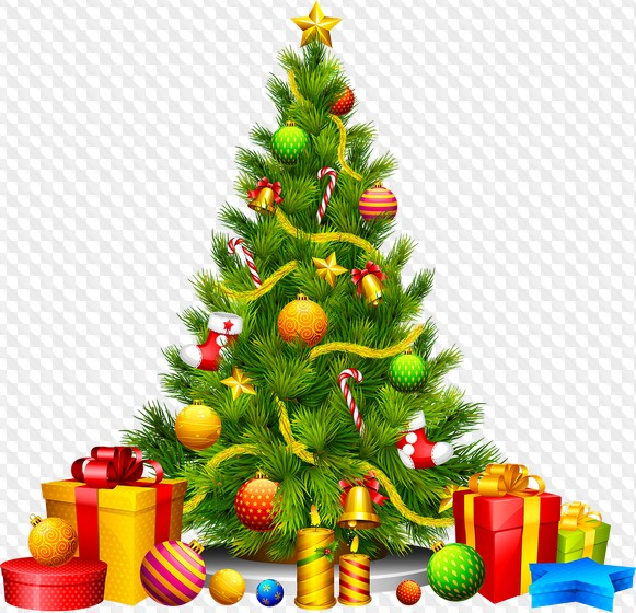 Psd 30 Png Christmas Tree On Transparent Background