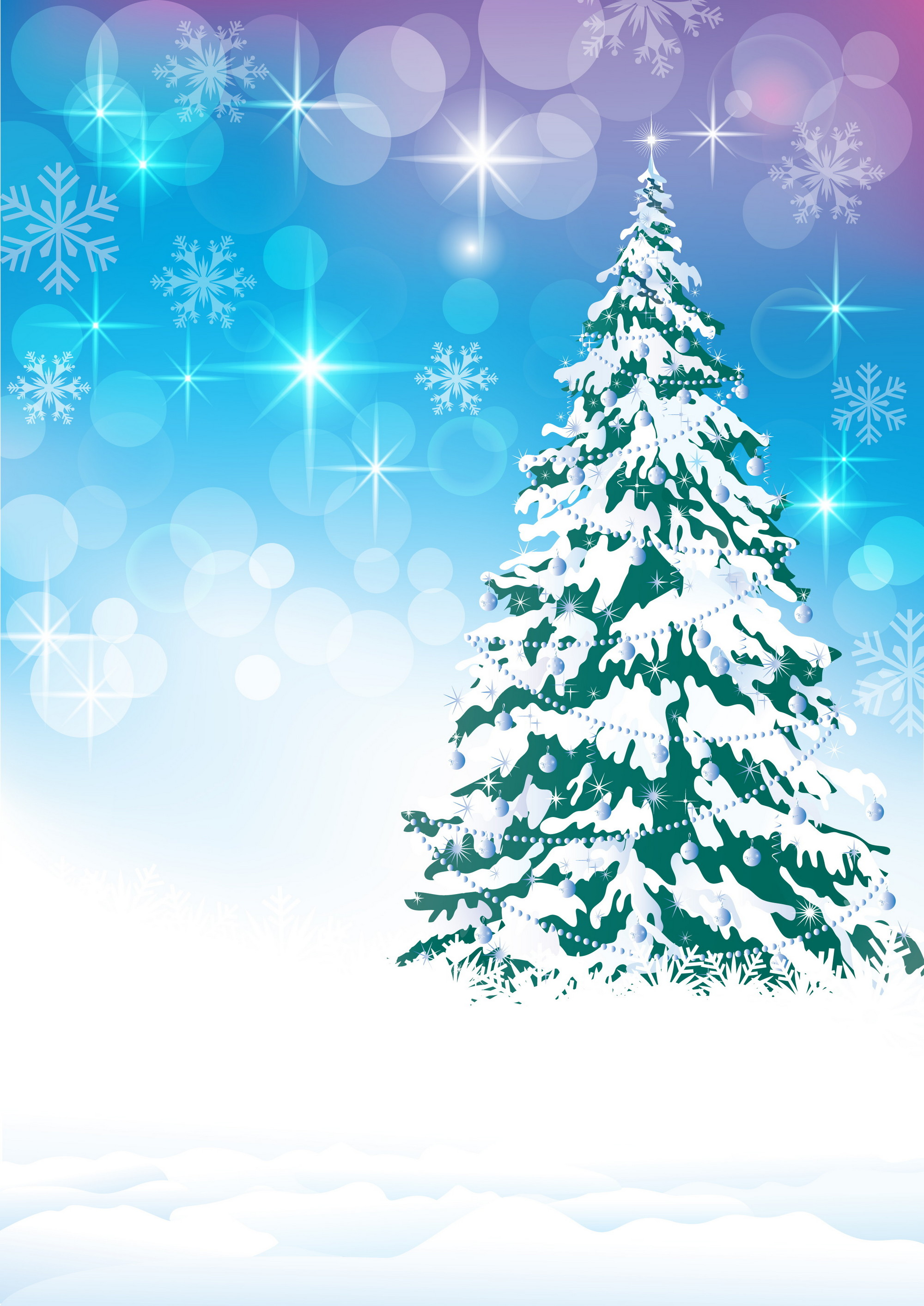 открытки со снежинками и елками экспорт