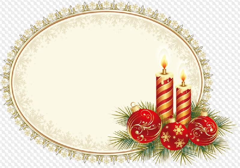 Заготовка для новогодней открытки