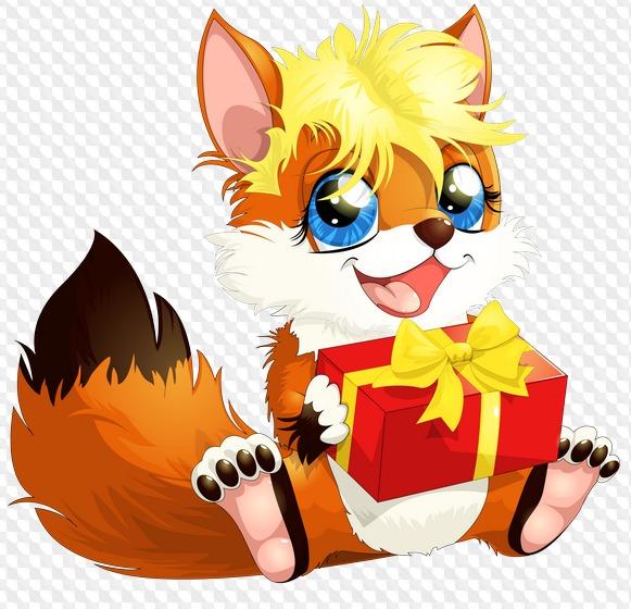 Учись прикольные, картинки лисы с днем рождения