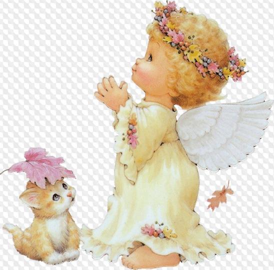 Открытки, картинка ангелы анимашки