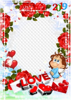 Love frames, photo frames, PNG, PSD, | Free download
