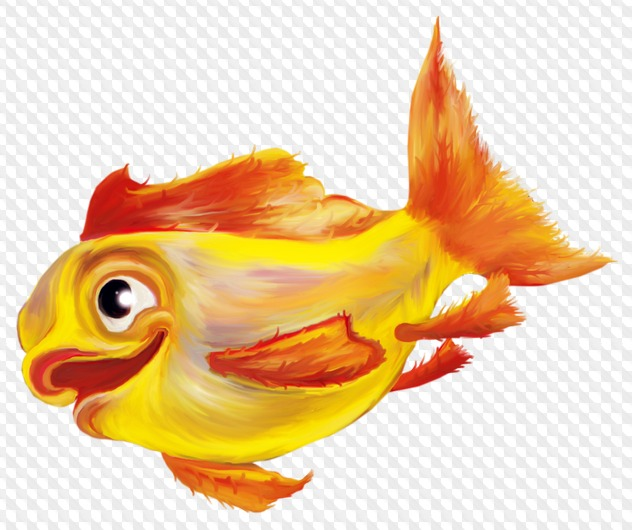 Фото города, картинки золотая рыбка на прозрачном фоне