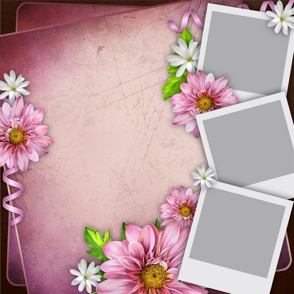 Для фоторамок, открытка фотоколлаж три фото