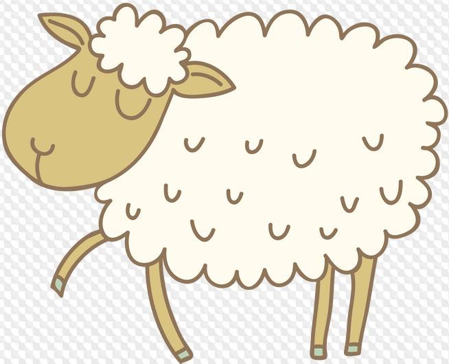 Для, овечка картинка для детей на прозрачном фоне