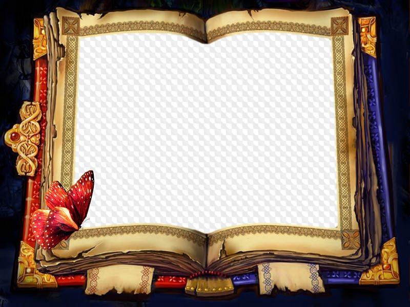 так, фоторамка книги на прозрачном фоне наибольший