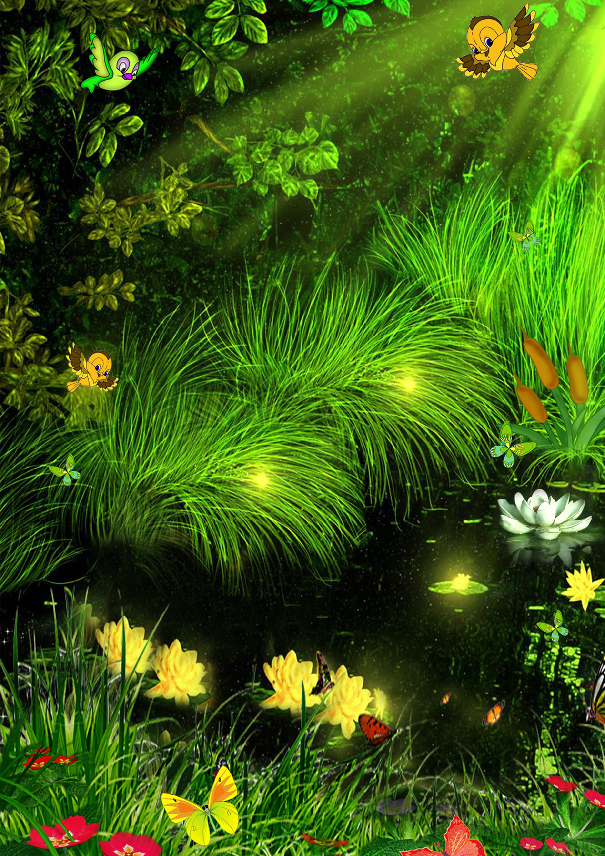 Красивые живые открытки с добрым утром природа