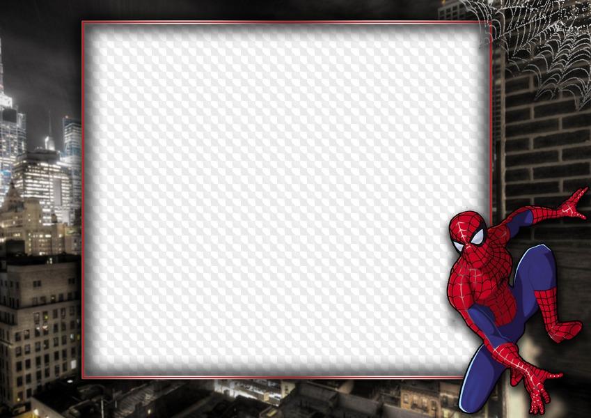 создать фоторамку в стиле человек паук