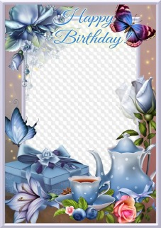 birthday photo frames for photoshop free download
