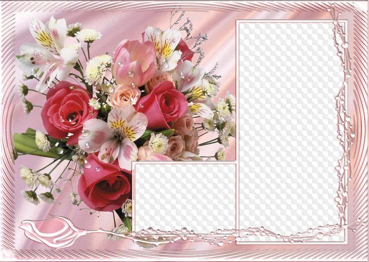 Поздравительная открытка с рамкой для фото