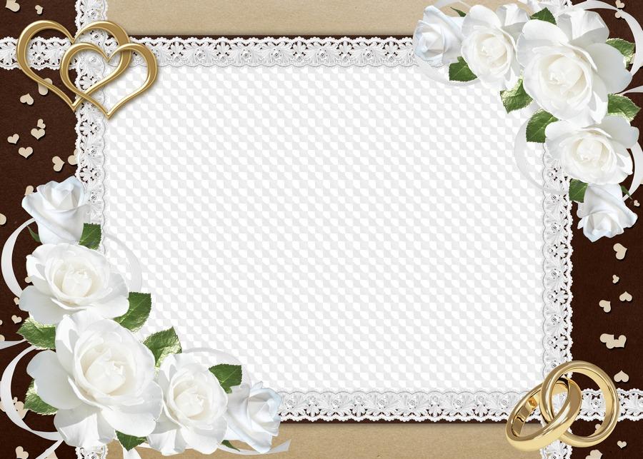Свадебная открытка без текста