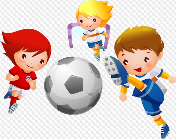 Картинка спортсменов детская