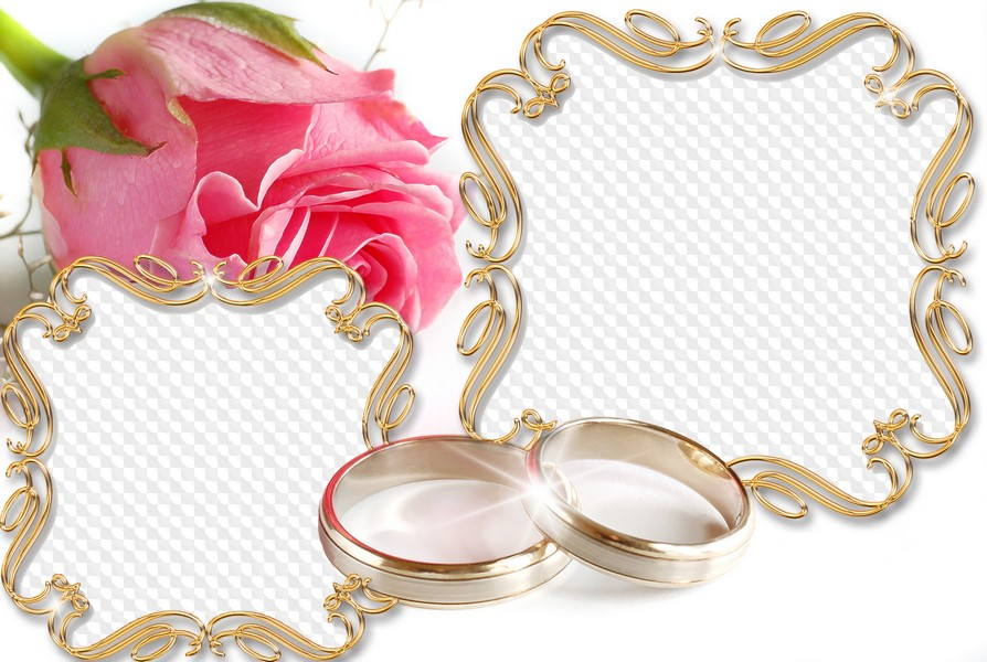 Золотая свадьба открытки для фотошопа