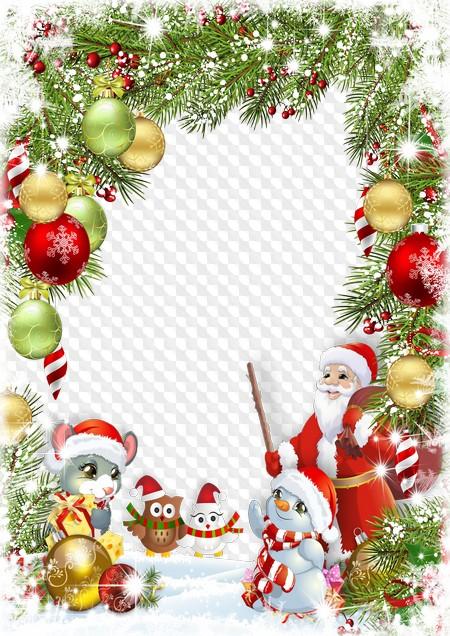 Christmas 2020 Frame Png Christmas frame, Christmas photo frame 2020. Transparent PNG Frame