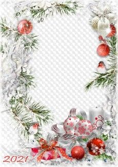 2021 Christmas .Png Christmas Frames Photo Frames Png Psd Free Download