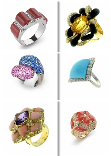 Clip Art - Jewelry (Rings)