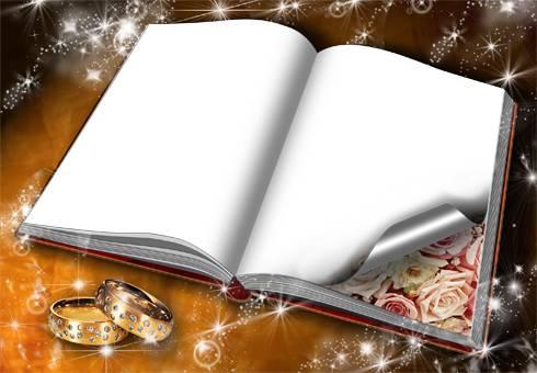 PSD Template For Photoshop &wedding& PSD | 4961х3508 | 300dpi ...