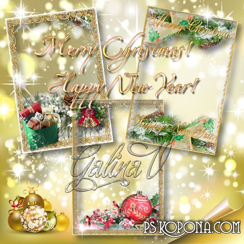 Nice Photoframes for Your Christmas Photos (1)