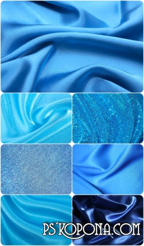 Blue Fabric Textures