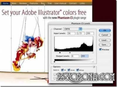 Phantasm CS Studio v10 for Adobe Illustrator CS4