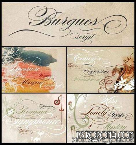 Sudtipos Burgues Fonts Collection