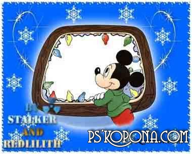 Frame for Photoshop - Mickey Mouse