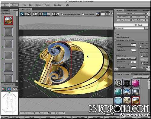 Zaxwerks 3D Invigorator v4.9.0 plugin for Photoshop