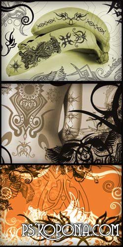 Tattoo HighReS Brushes 23 HQ brushes | abr | 4.26 mb