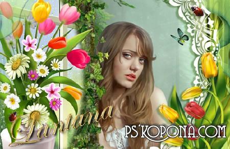 Photomika com шаблон для фотошопа