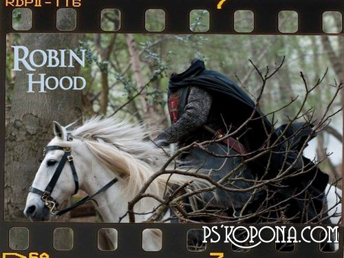 PSD templates for men Robin Hood