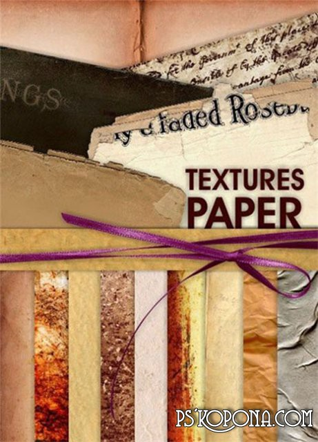 Collection of Paper Textures