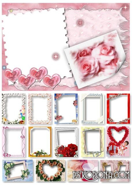 Wedding frames big collection