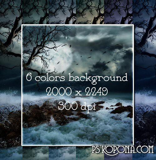 Dark backgrouds in PSD