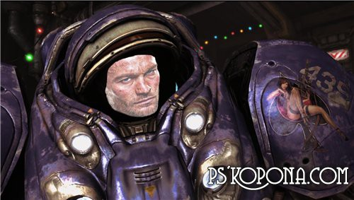 Шаблон для Photoshop - Starcraft