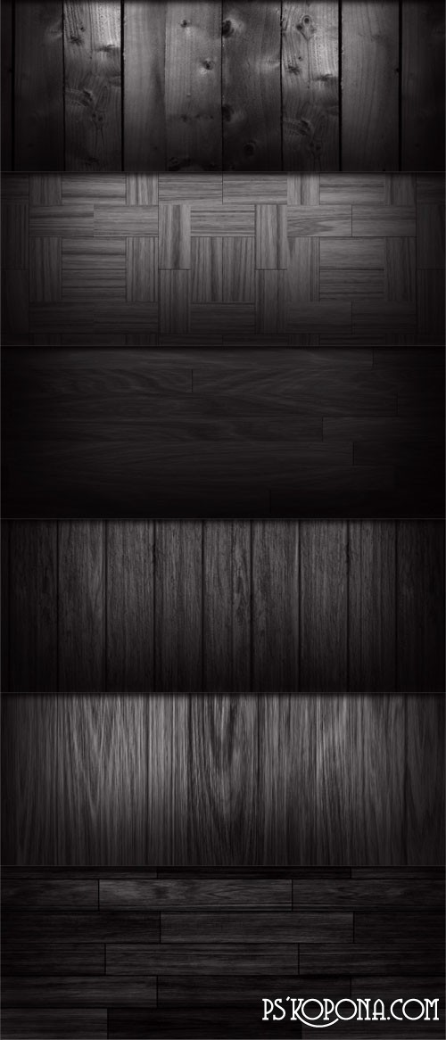 8 black textures (PSD .PAT ) ( free black textures, free download )