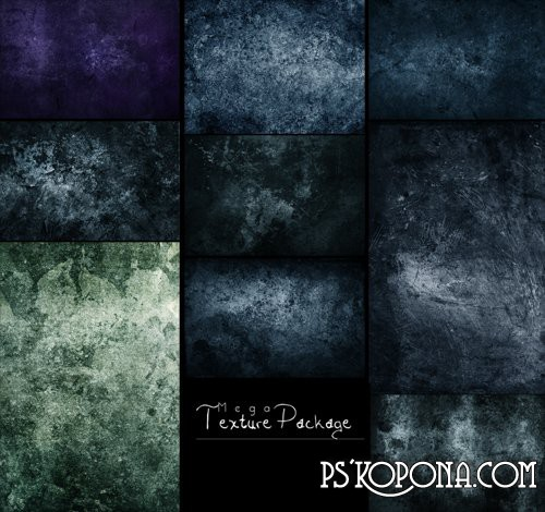 Collection Grunge textures