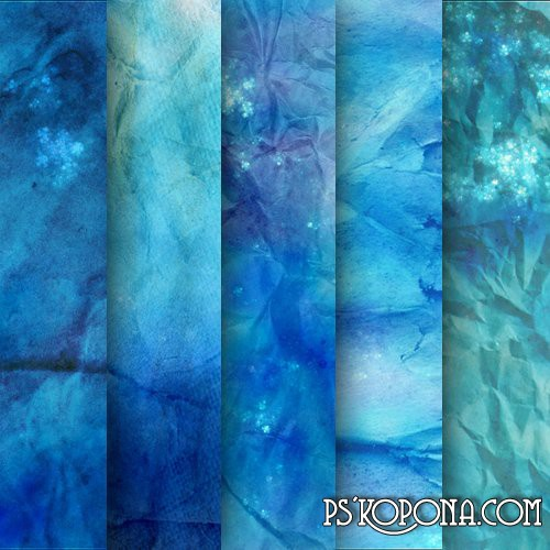 Exclusive textures - Blue Ice