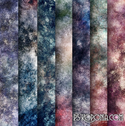 A unique collection of textures grunge