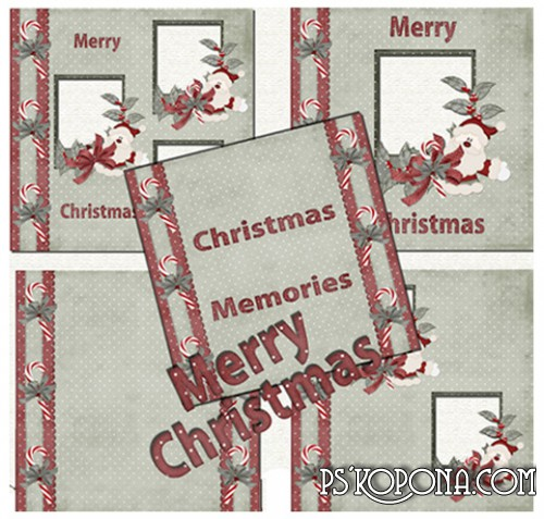 Christmas Scrap-pages