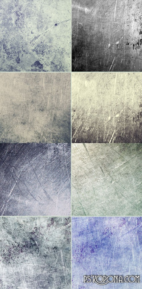 Textures - Scratches on the metal