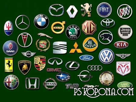 logos of cars. Emblems and logos of cars