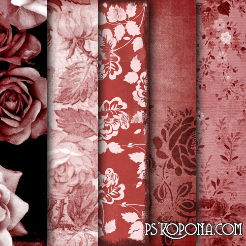 Textures  Roses