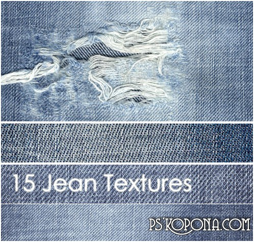 Textures -Shabby jeans