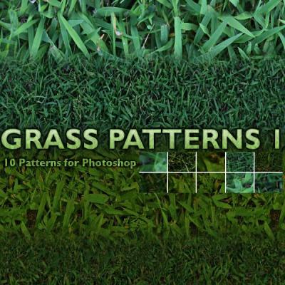 Grass textures and patterns