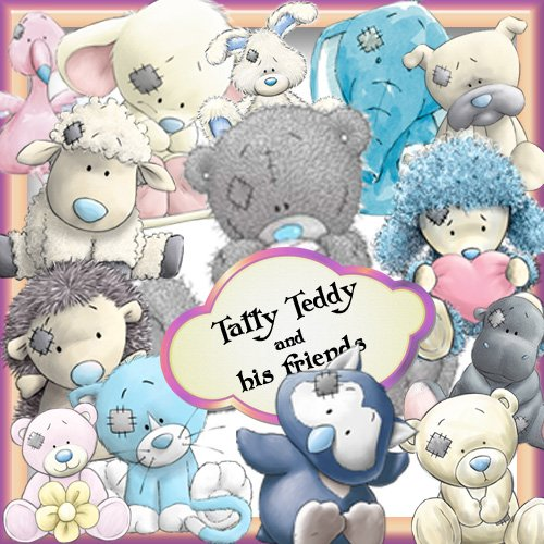 tatty teddy wallpaper. Tatty Teddy and his friends