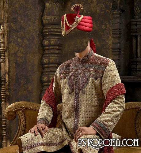 Template for Photoshop - The sultan