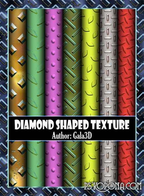 Diamond Shaped texture.