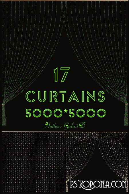 Decorative Curtains png free download