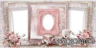 Beautiful photo album template psd - My birthday