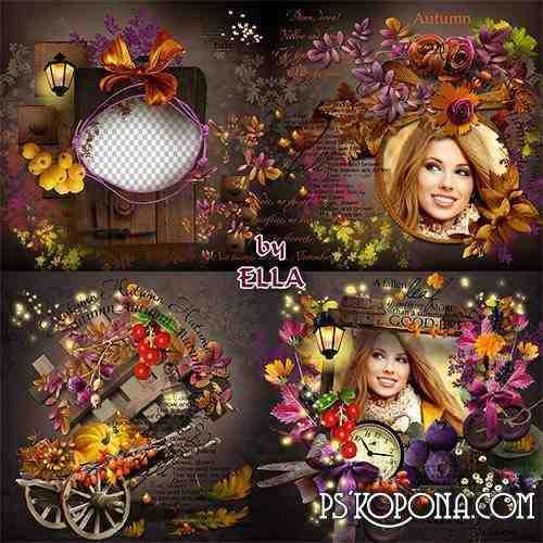 Beautiful Autumn photobook- Autumn dreams